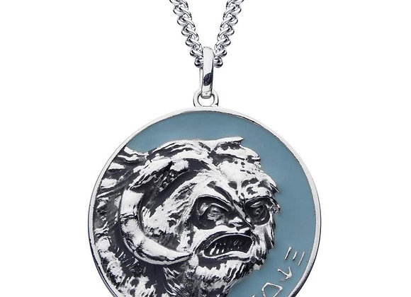 Star Wars Hoth Necklace in Sterling Silver