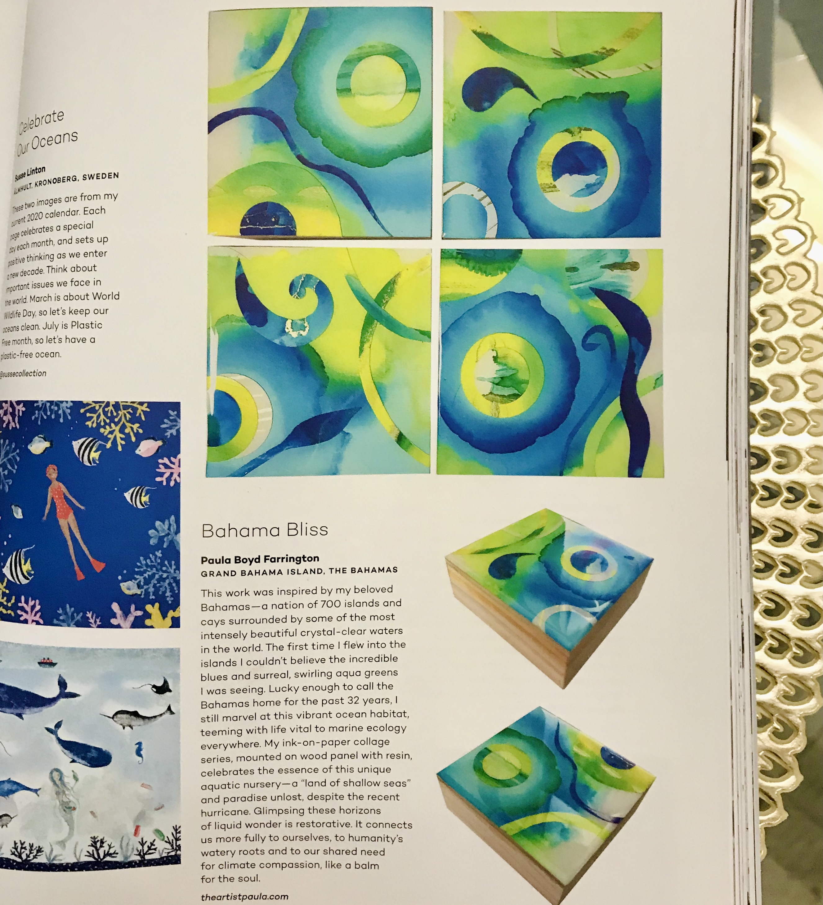 Feature in UPPERCASE Magazine for the Creative & Curious Spring 2020