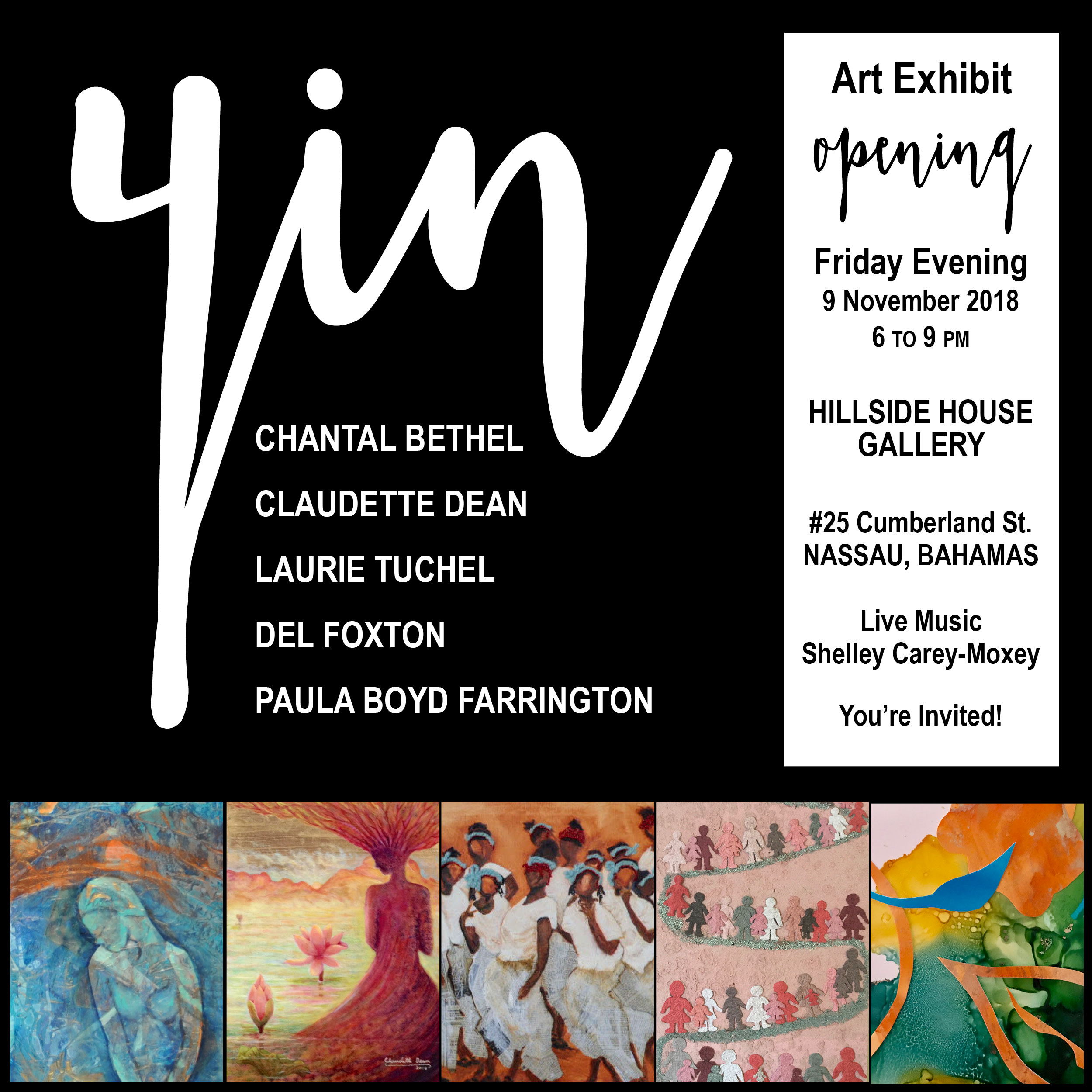 YIN - Group Exhibit November 2018