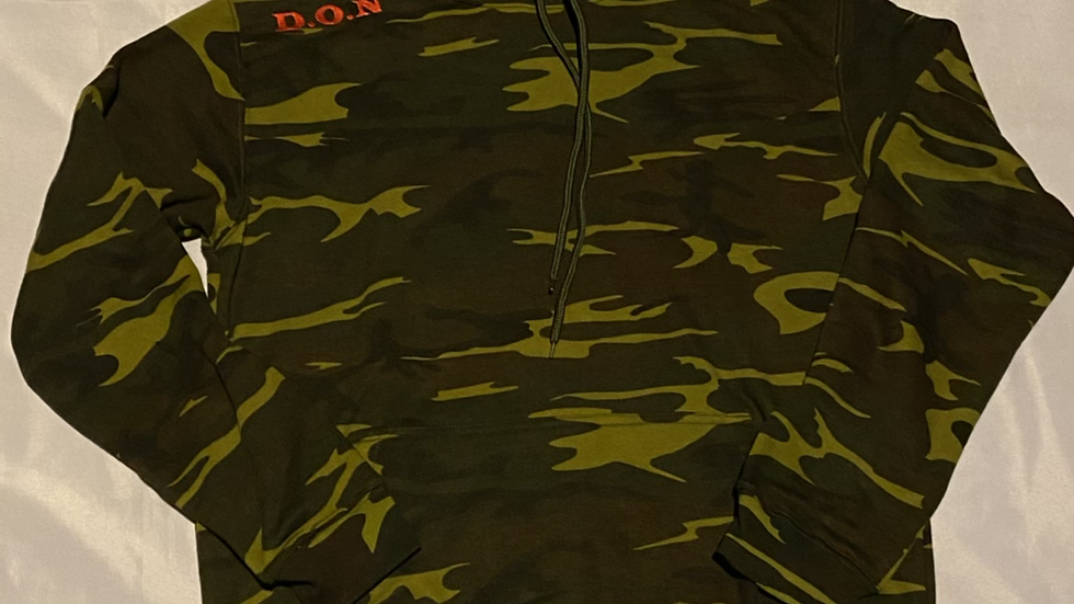 """Camo D.O.N """"It Has Always Been Us"""" Embroidered Hoody"""