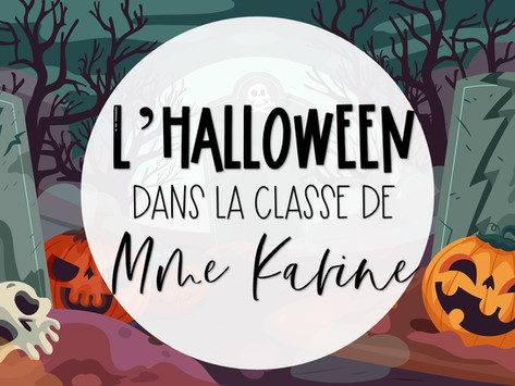 L'Halloween dans la classe de Mme Karine
