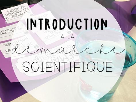 Introduction à la démarche scientifique