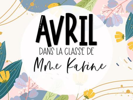 Avril chez Mme Karine
