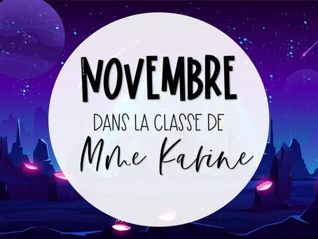 Novembre chez Mme Karine