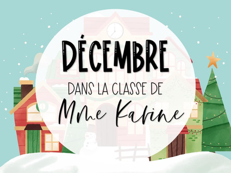 Décembre chez Mme Karine