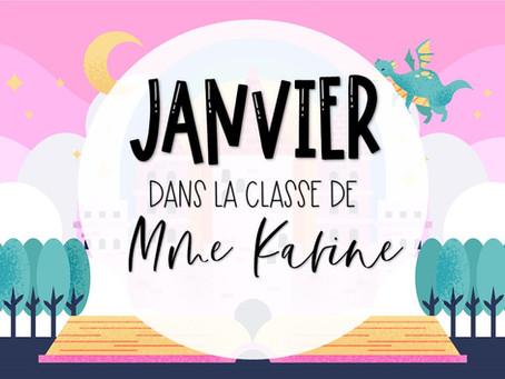 Janvier chez Mme Karine!