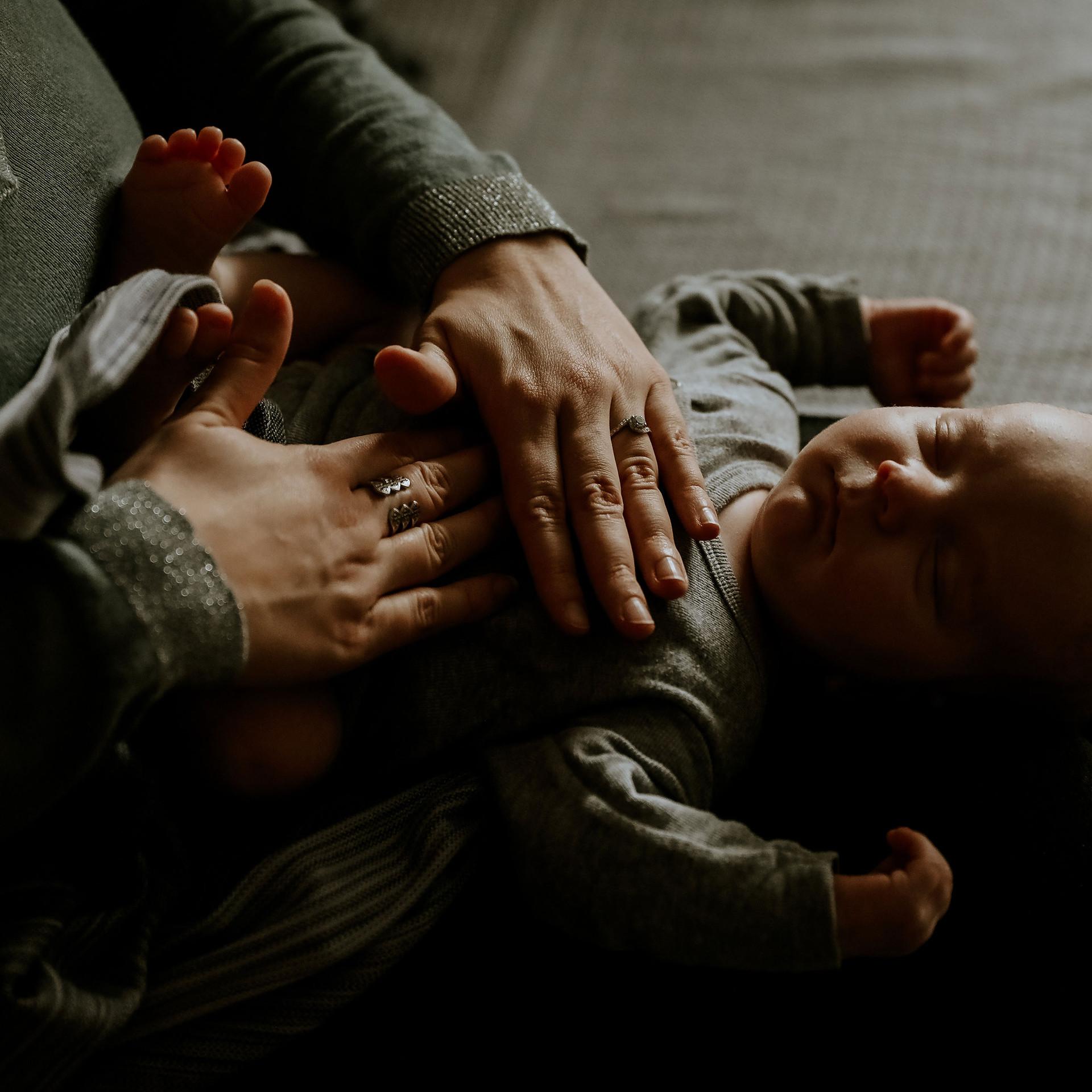 Massage bébé Shantala