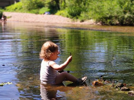 De l'importance de la nature chez les touts petits