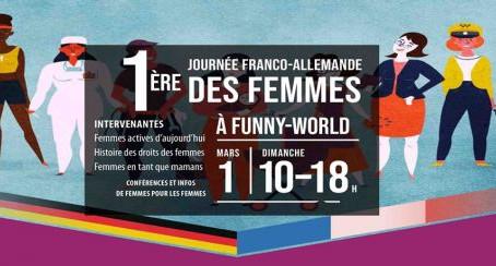 Retrouvez-nous lors de la première journée des femmes franco-allemandes à Funny World !