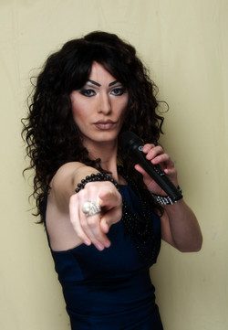 Lucy Lashes Drag Queen Singer