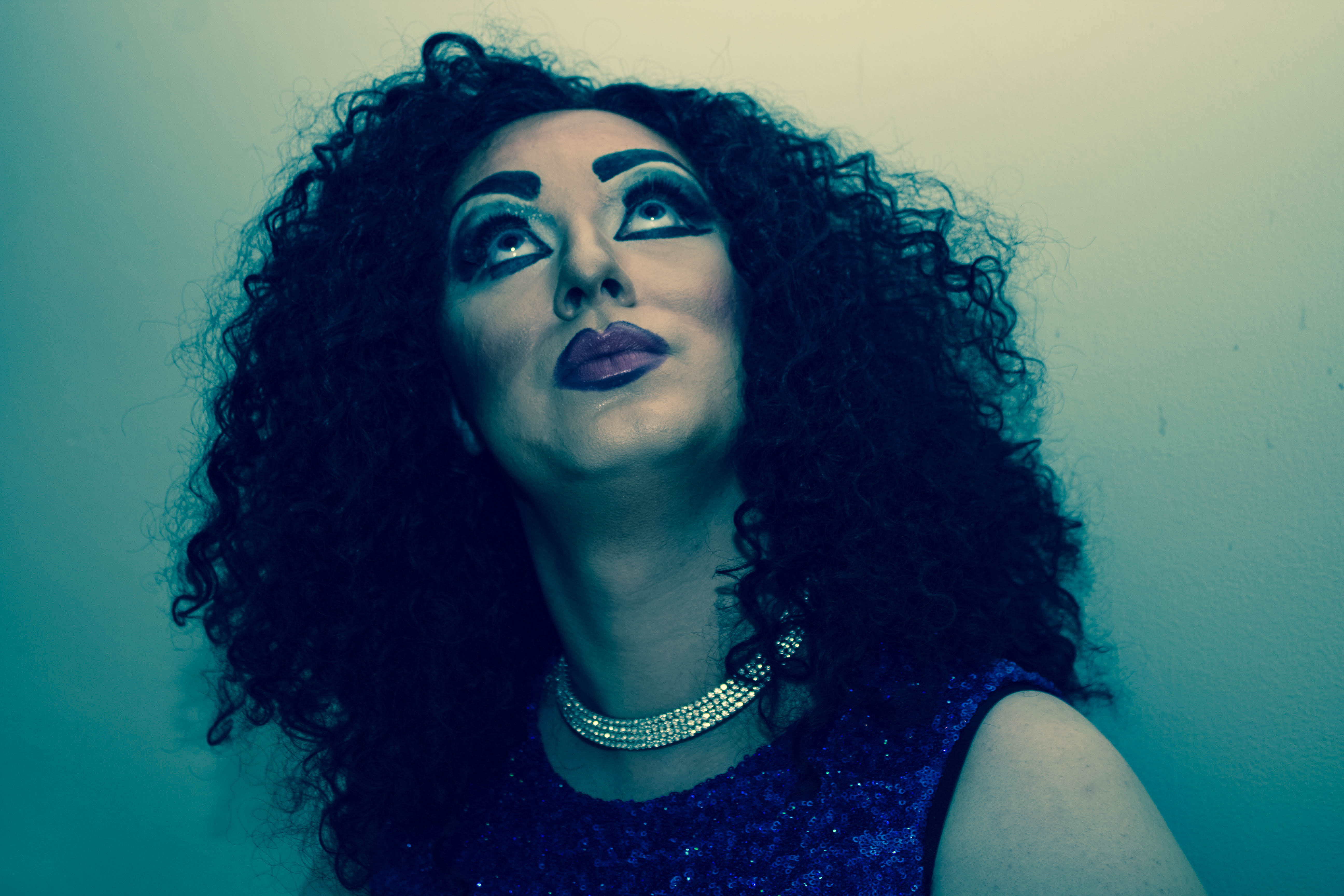 Lucy Lashes Drag Queen Mark Boulton