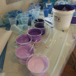 Six shades of purple
