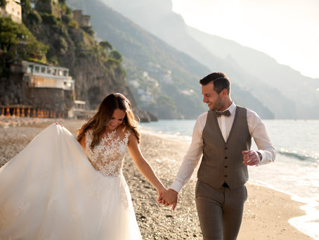 Intimate Newly Wed Session in Positano