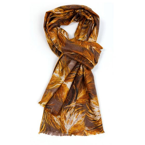 Scarf 20% cashmere 80% cotton