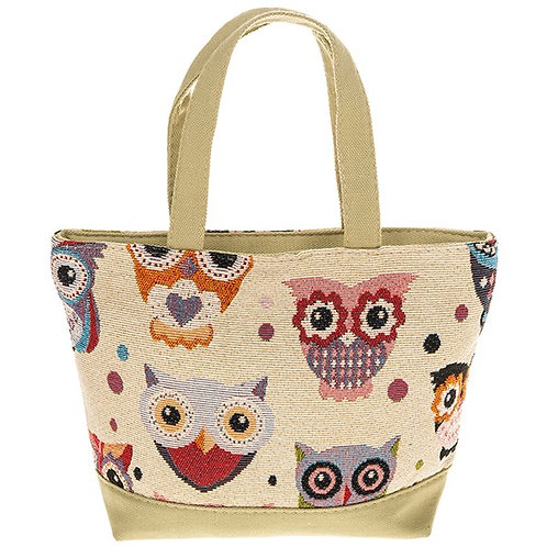 Kiddie's owls shopper bag