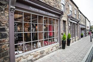 Norma James Shop Corbridge norman longst
