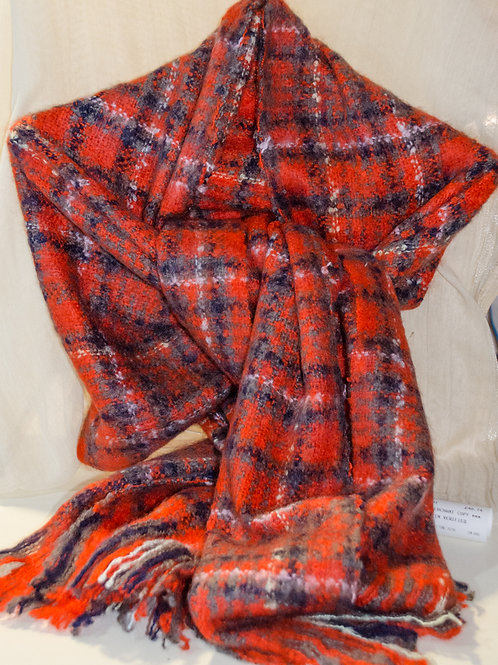 Many Different Check Scarves at our shop