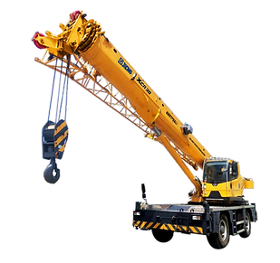 XCR30 Rough Terrain Crane_Brief Introduc