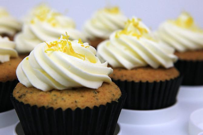 Recipe Testing Tuesdays: Lemon Poppyseed Cupcakes