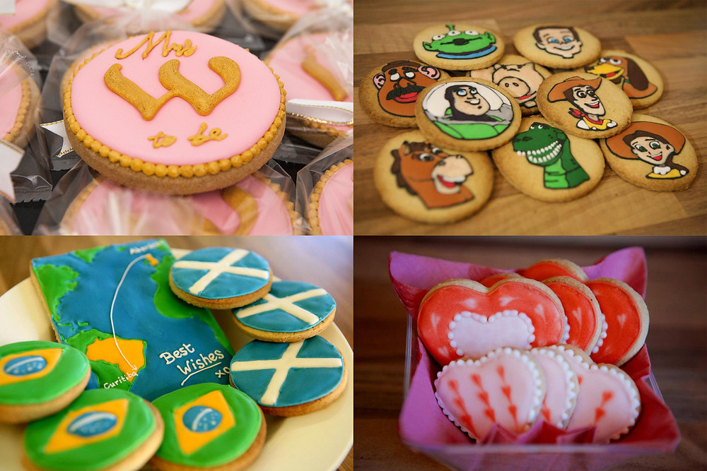 examples of decorated cookies