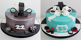 Gallery of bespoke celebration cakes and cupcakes