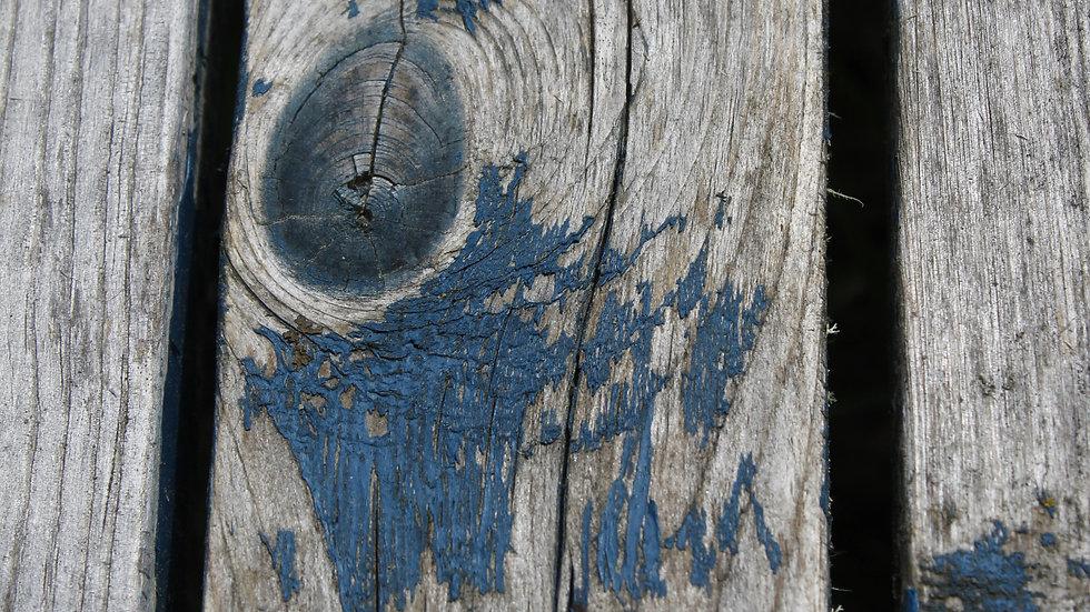 Rustic Painted Wood