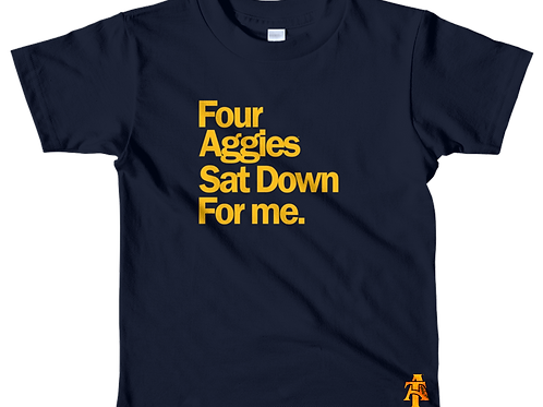 Youth Four Aggie Tee