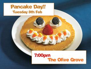 Pancakes galore!