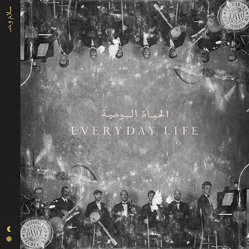 CD // COLDPLAY - EVERYDAY LIFE