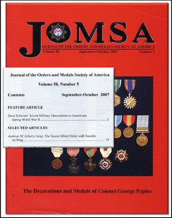 JOMSA Feature Article Cover