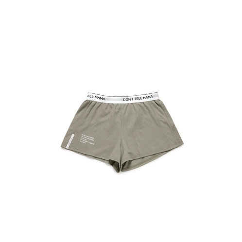 HANDLE WITH CARE-SHORTS GRAY