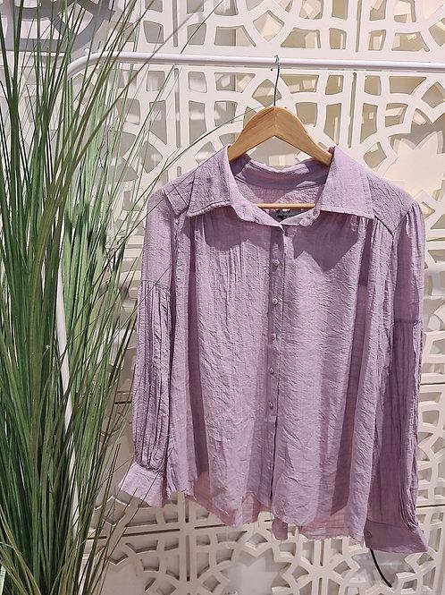 pastel shirt סגול