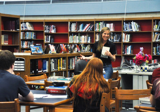 Local Author workshop at WHS