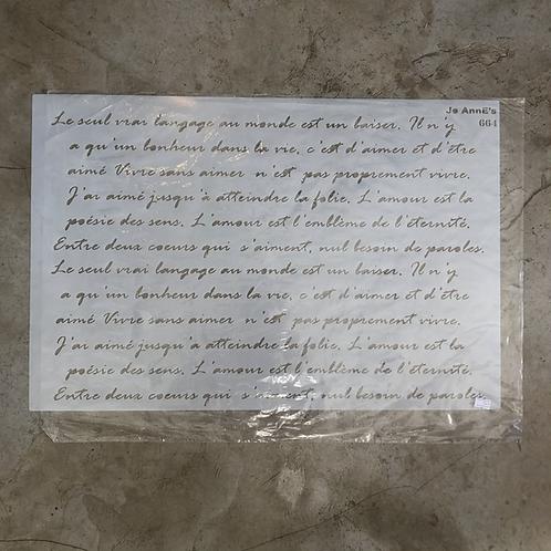 Jo Annes, Script 664- 600 x 400