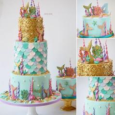 Mermaid love🥰__My daughter's birthday c