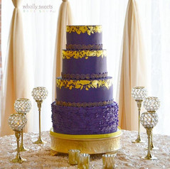 24K gold and deep purple love💜_Congratulations to the new couple!