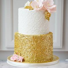 Hello pretty!💗 Gold sequins and sugar f