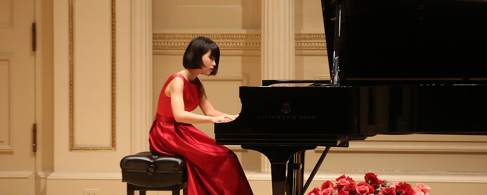 Winner Recital in New York
