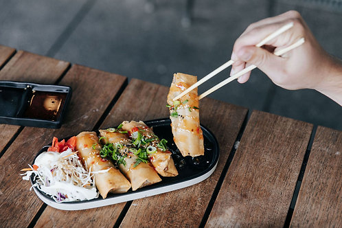 Beef Spring Roll (x8)