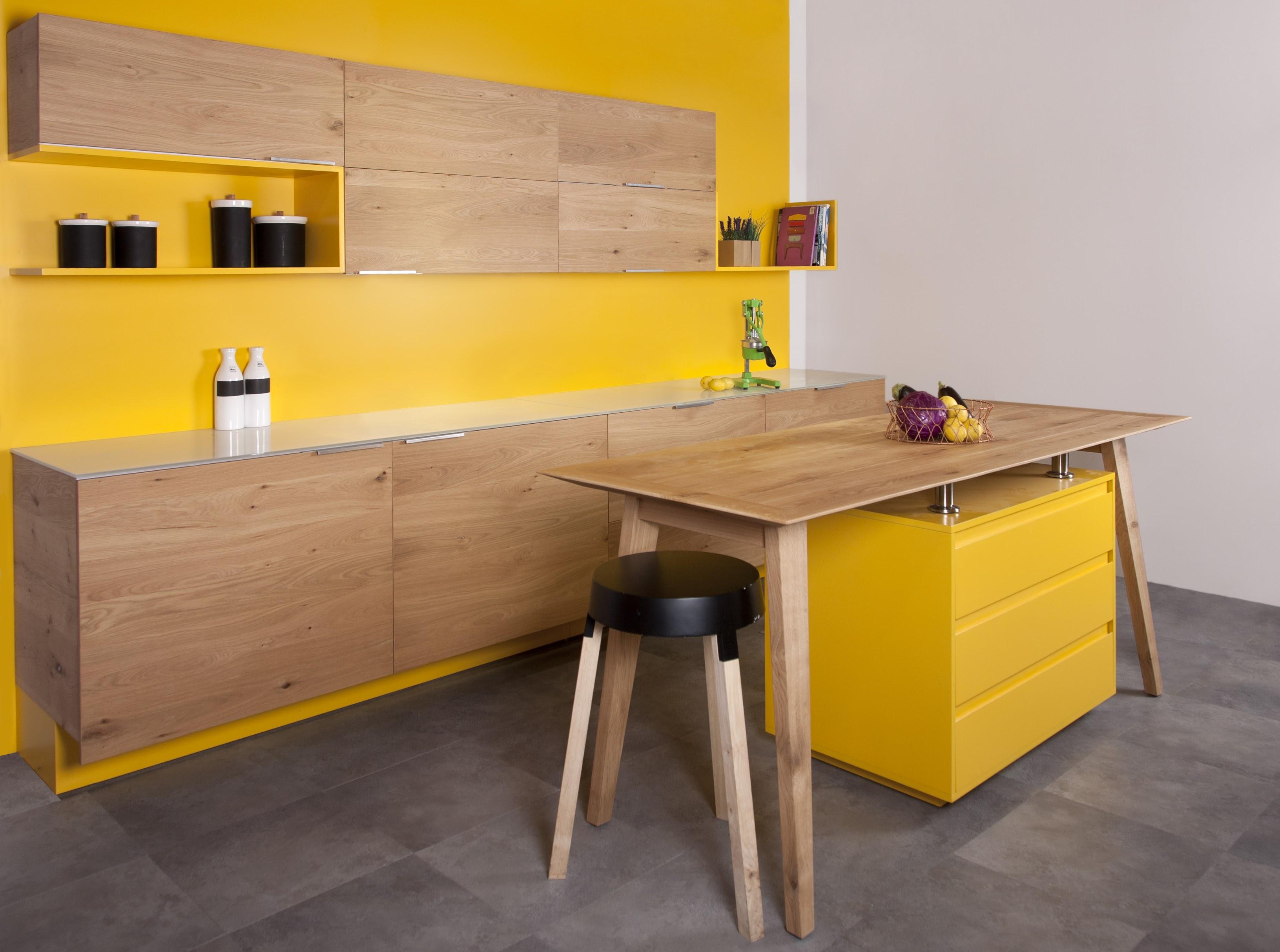 מטבח פרניר אלון | צהוב