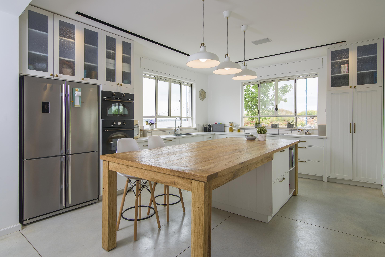 מטבח כפרי | בית בתל-מונד
