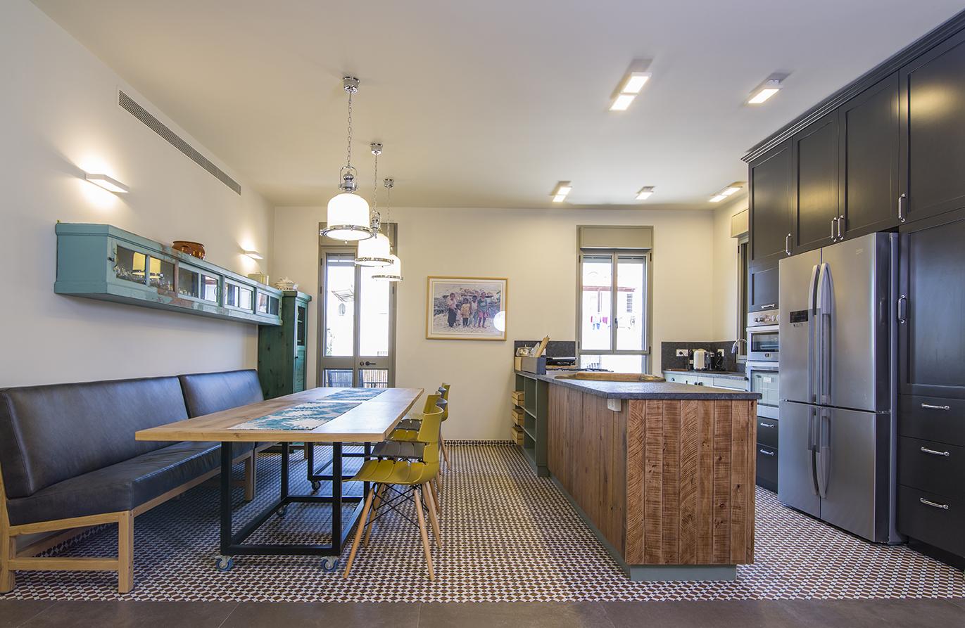 מטבח בדירה ביפו