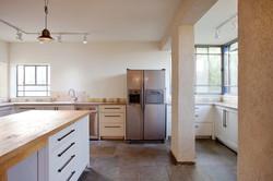 מטבח לבן | שילוב עץ