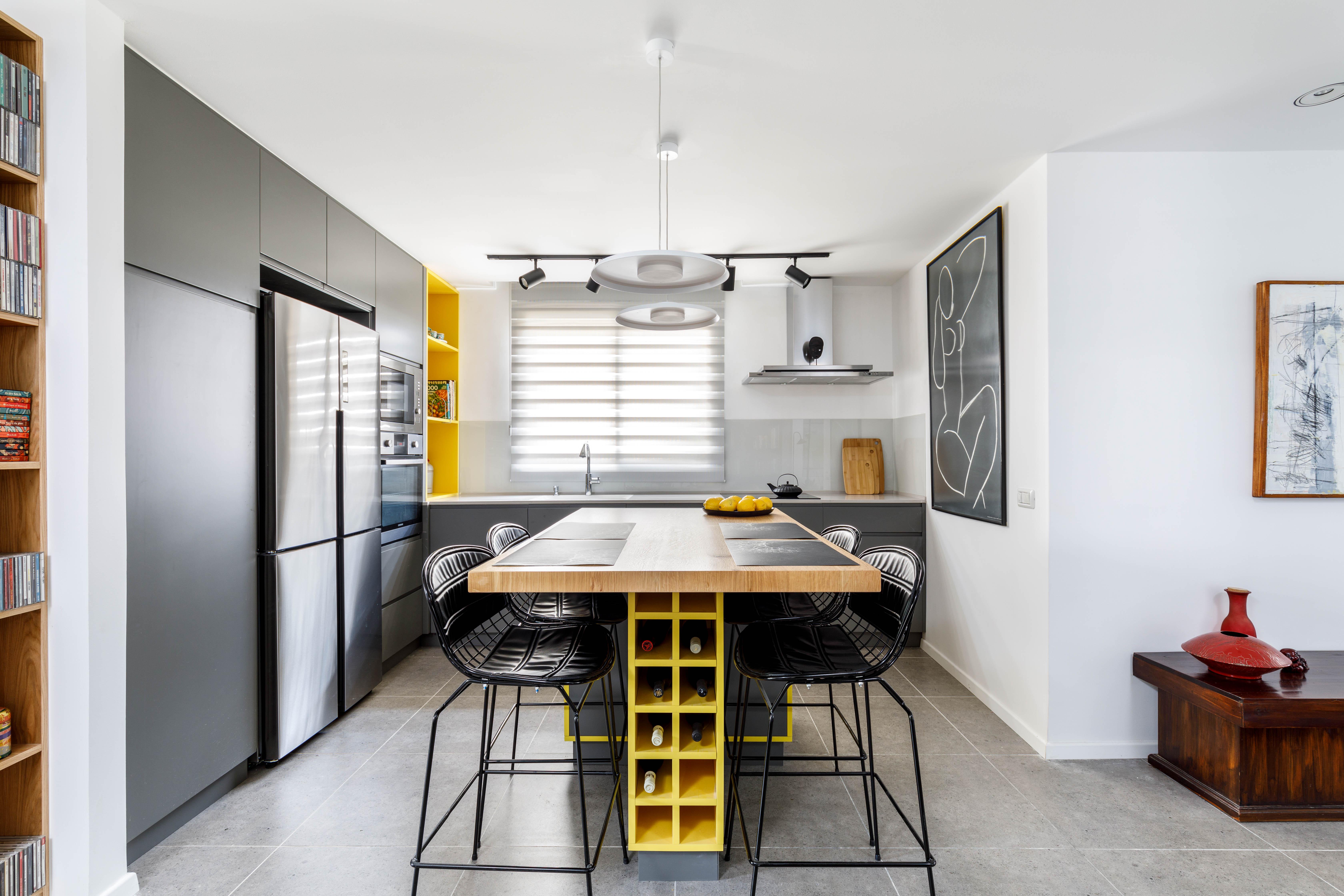 מטבח מודרני בצבע (2)