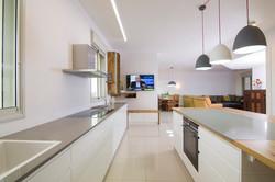 מטבח מודרני | פנטהאוס ברחובות