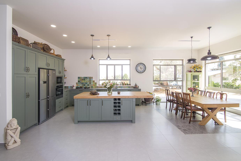 מטבח כפרי | בית בצופית