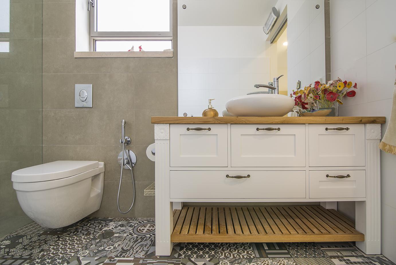 שידה חדר אמבטיה הורים - יוניק דברים מיוחדים 3