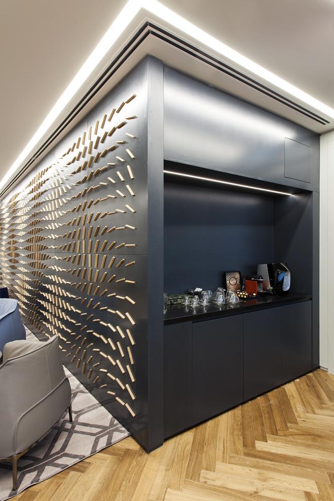פינת קפה | חיפוי הקיר