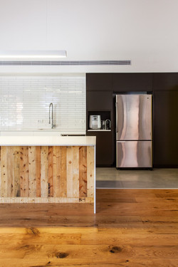 מטבח מודרני | חיפוי עץ משטחים