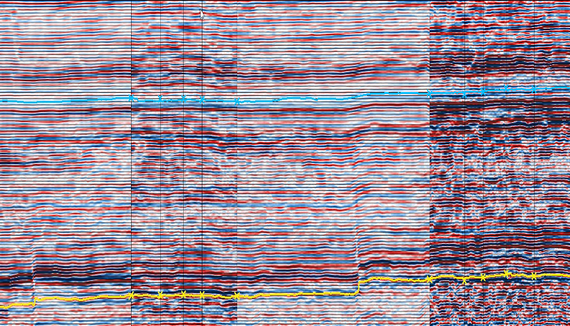 Tying seismic and well data